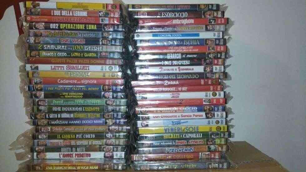Franco e Ciccio 78 film in dvd