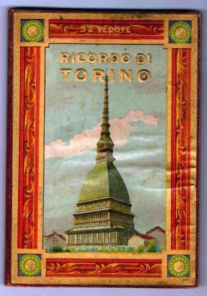 """Libro fotografico &quotRicordo di Torino"""". - 32 vedute di Torino nei primi decenni del novecento"""