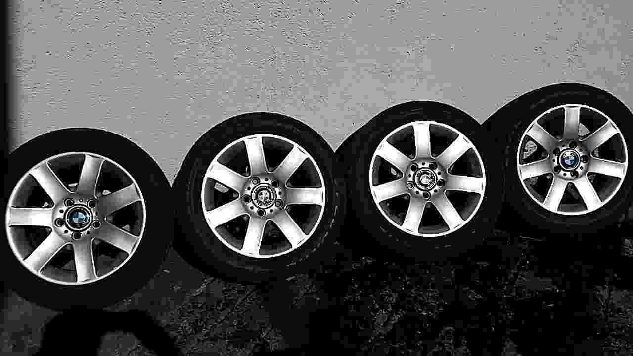 4 cerchioni in lega originali BMW  16 pollici