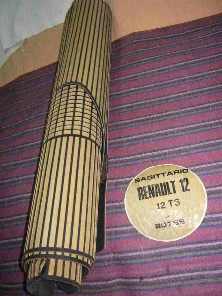 Tappeti in gomma RENAULT R 12 d'epoca