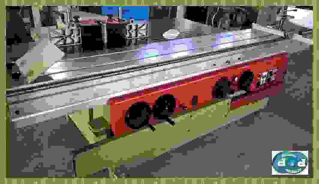 TENOSQUADRATRICE CON INCISORE LAMA INCLINABILE, SICAR  Modello: T/3000/I USATA F159