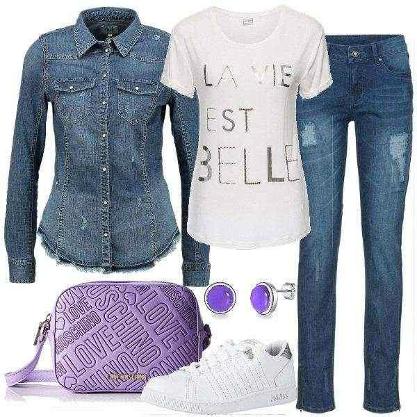 Stock 65.000pz. abbigliamento e jeans FIRMATI MISTI col. varie