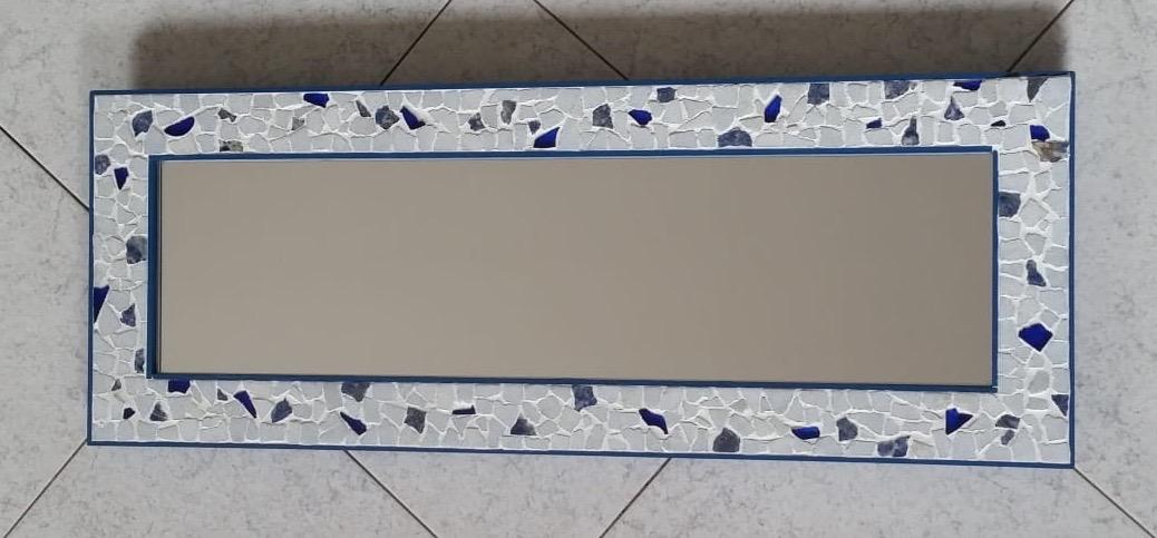 Specchio da parete in marmo 31x84