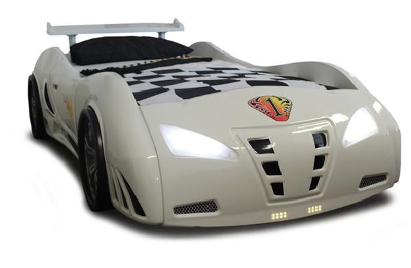 Grand Prix Extreme auto letto - bianco, full extra