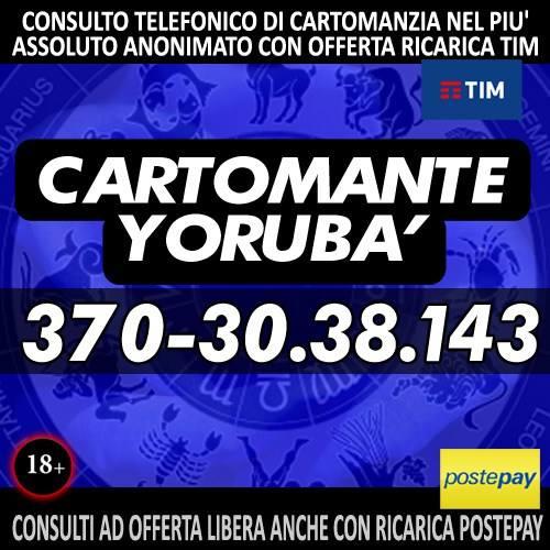 CARTOMANTE YORUBA - LETTURA DEI TAROCCHI AL CELLULARE
