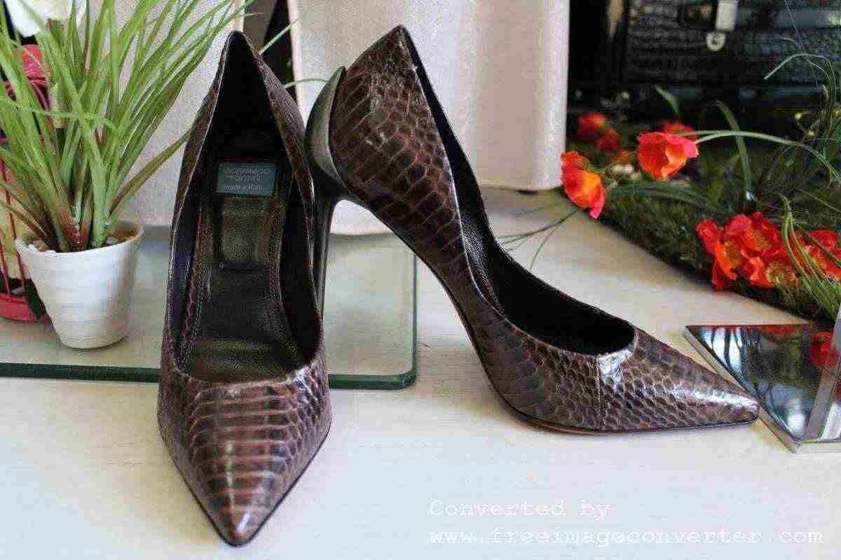 Stock   calzature Donna in vero Pitone