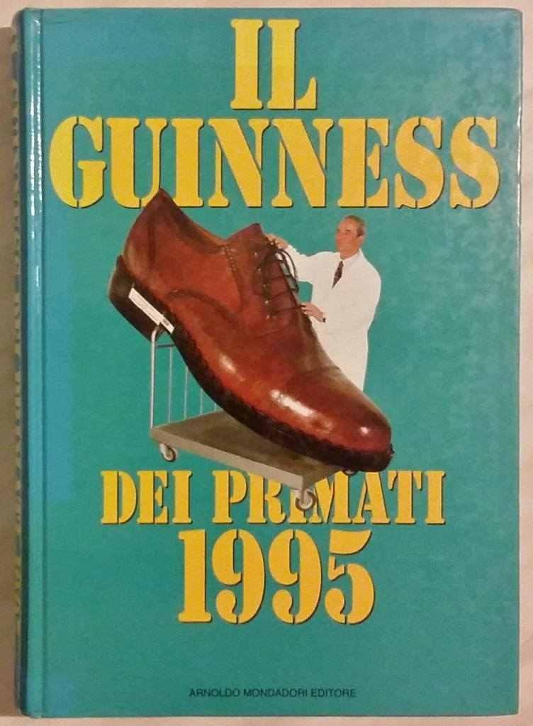 Il guinness dei primati 1995 1°Edizione Mondadori nuovo