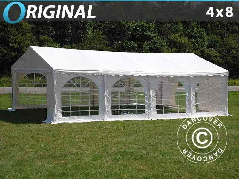 Tendone per feste Original 4x8 m PVC, Bianco