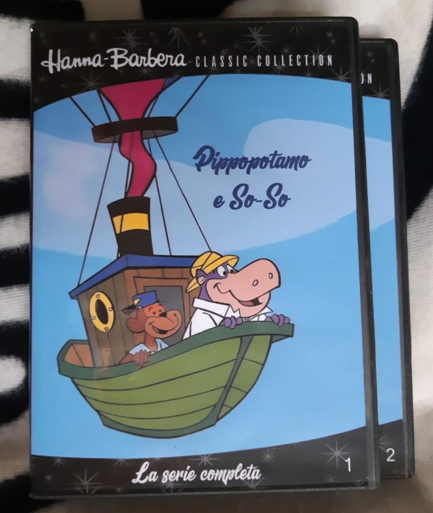 Pippopotamo e so so serie animata completa in dvd