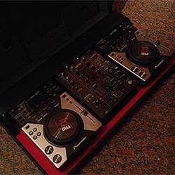 CONSOLLE DJ PIONEER DJM 400 + CDJ 400