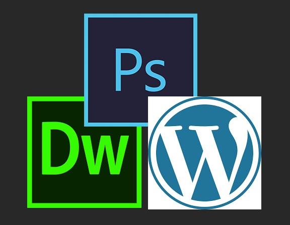Web Designer - Adobe Photoshop, WordPress e DreamWeaver