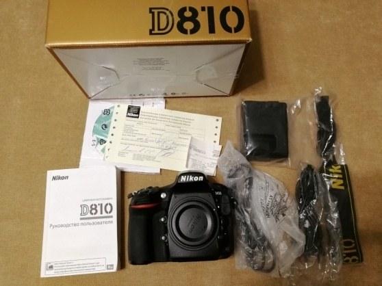 Nuovo Nikon D810 FX format digital SLR