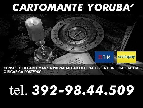 Un consulto telefonico di Cartomanzia prepagato con ricarica telefonica