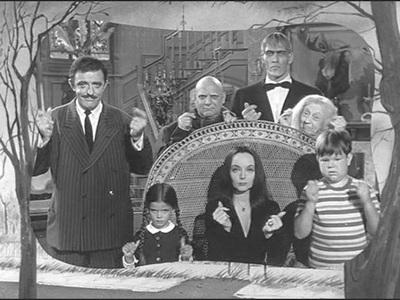 La famiglia Addams serie tv completa anni 60 B/N