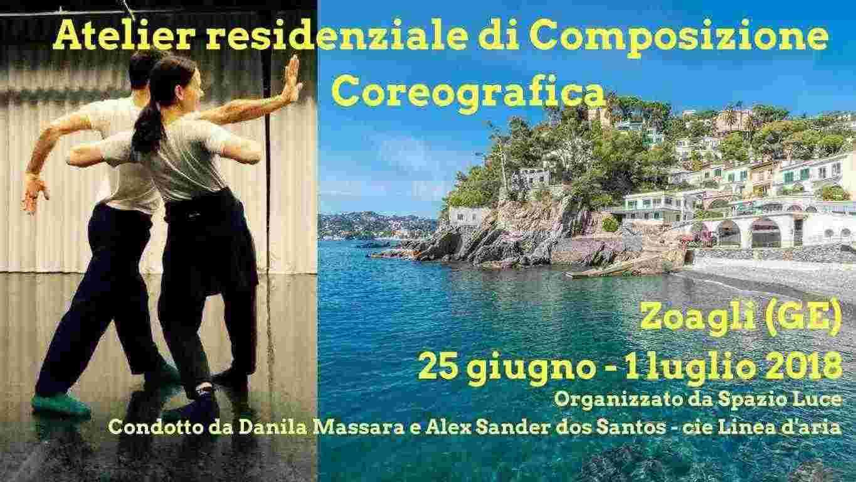 """ATELIER DI COMPOSIZIONE COREOGRAFICA  &quotIL CORPO IN SCENA """""""