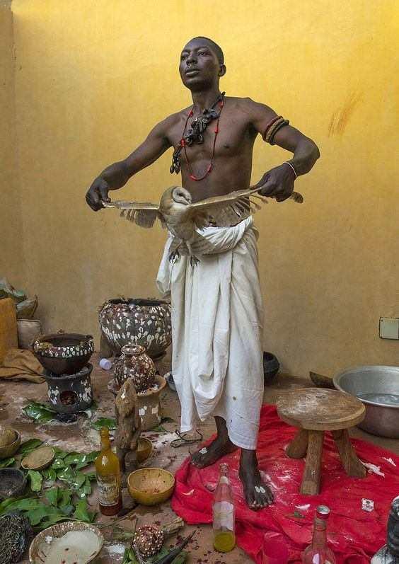 Traditioneller afrikanischer/haitianischer Heiler
