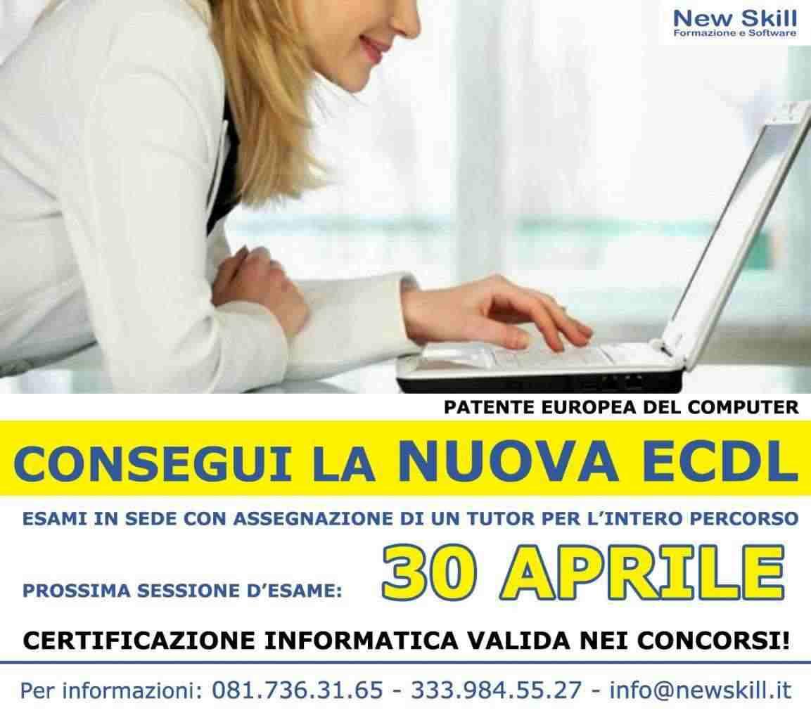 Certificazione Informatica NUOVA ECDL
