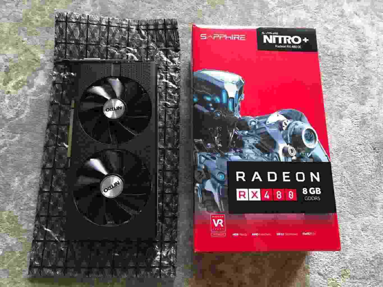 Sapphire Radeon RX 480 Nitro 8GB