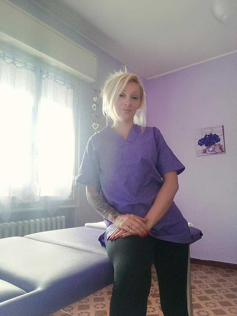 Massaggiatrice pranoterapista