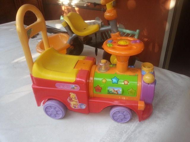 Trenino e triciclo -----------------------------------