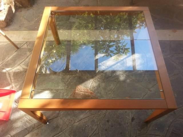Tavolino da salotto in faggio