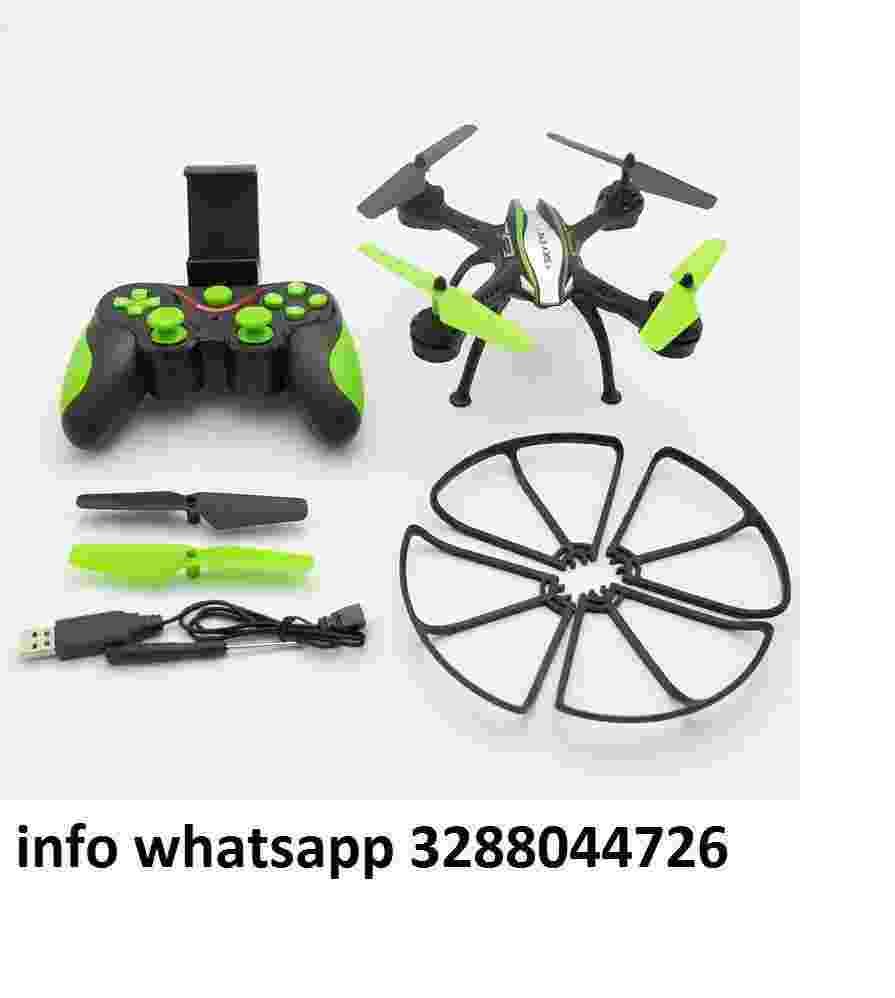 Drone quadricottero radicomandato wifi camera hd video foto