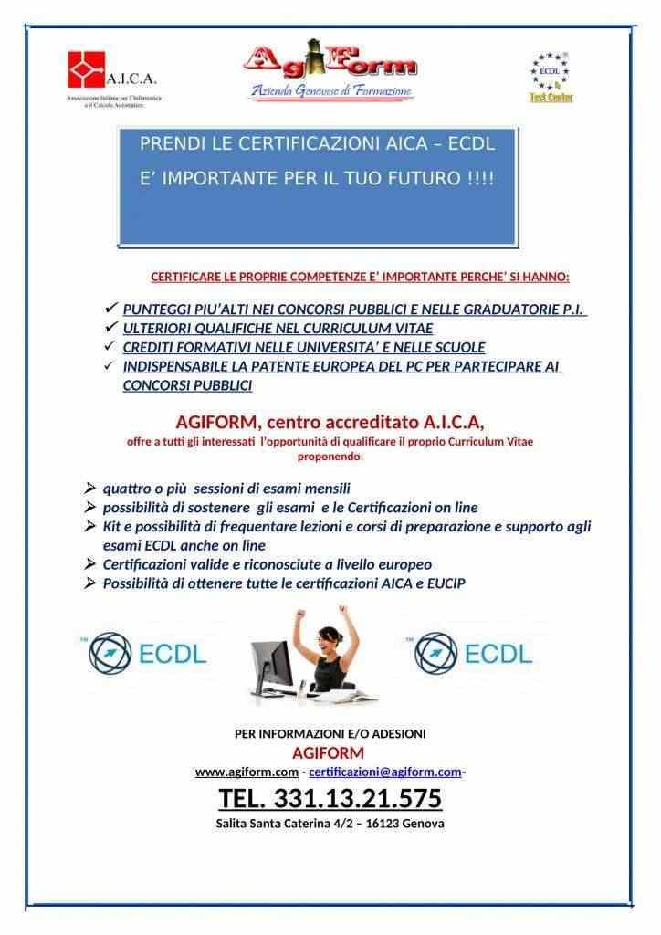 AICA - ECDL la patente europea del computer