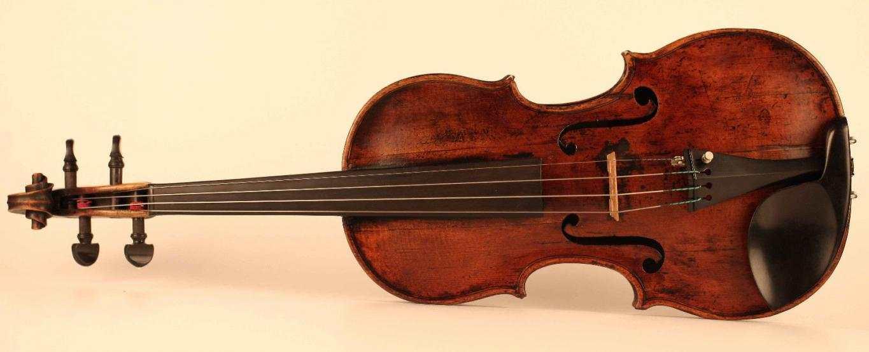 Vecchio violino Petrus Guarnerius