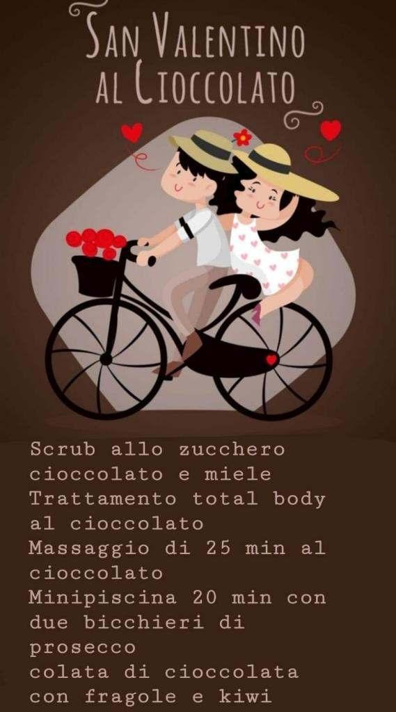 Percorso Benessere San Valentino al cioccolato