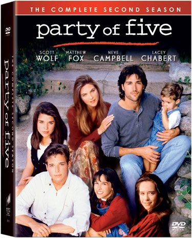 PARTY OF FIVE SERIE COMPLETA IN DVD