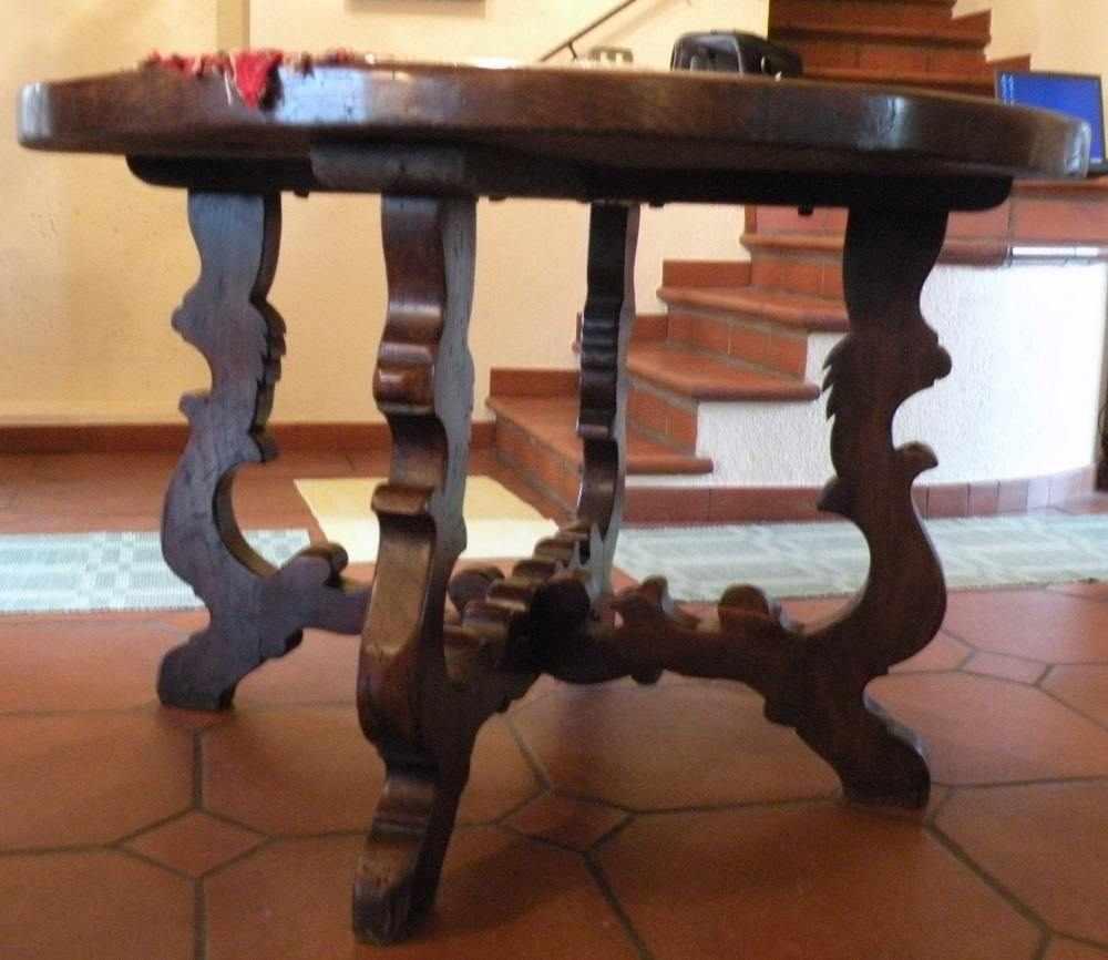 Tavolo legno massiccio anni 70