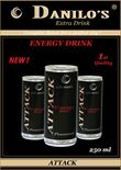 Energy Drink DANILO'S Extra – Complete flavor for a perfect day !
