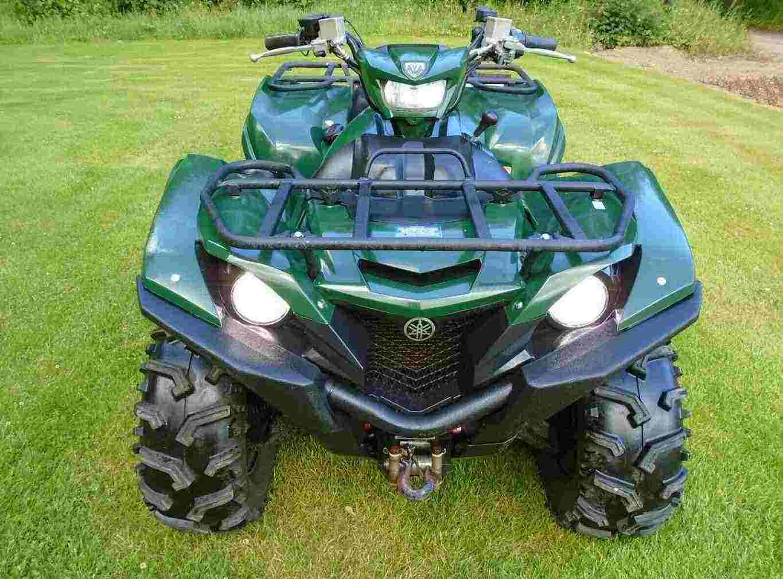 2017 YAMAHA QUAD ATV GRIZZLY 700 4x4