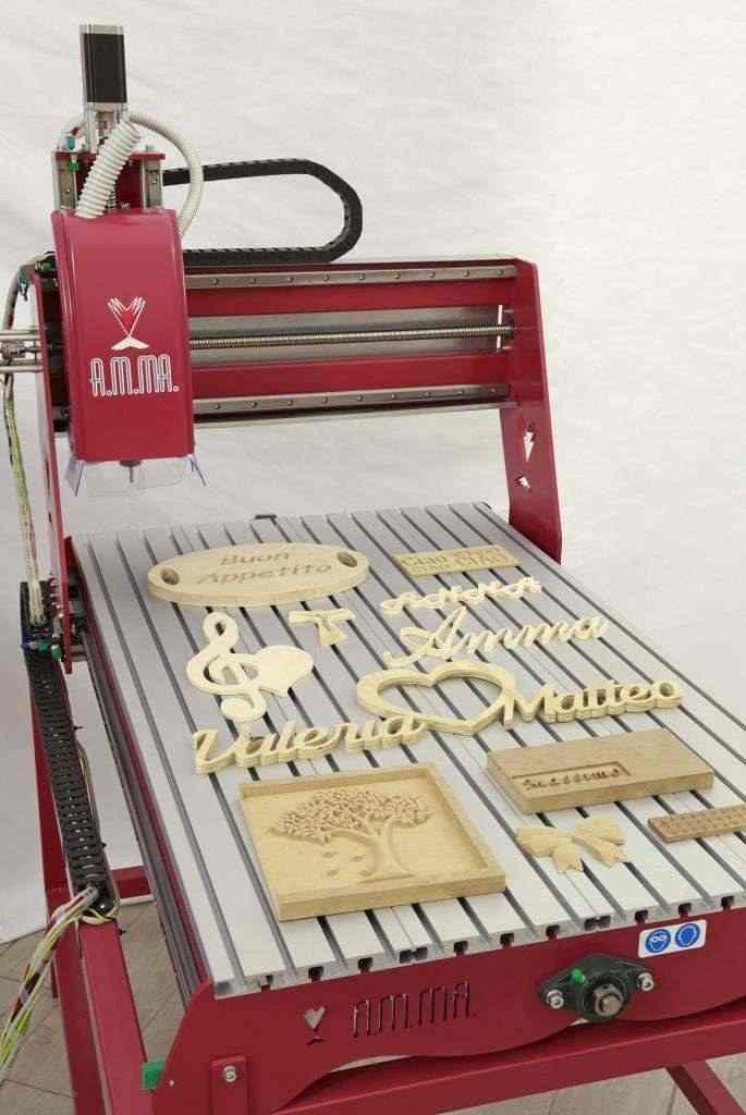 Pantografo CNC per legno alluminio forex dibond marmo