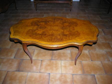 Tavolino da salotto  stile Luigi XV Meda Monza Milano