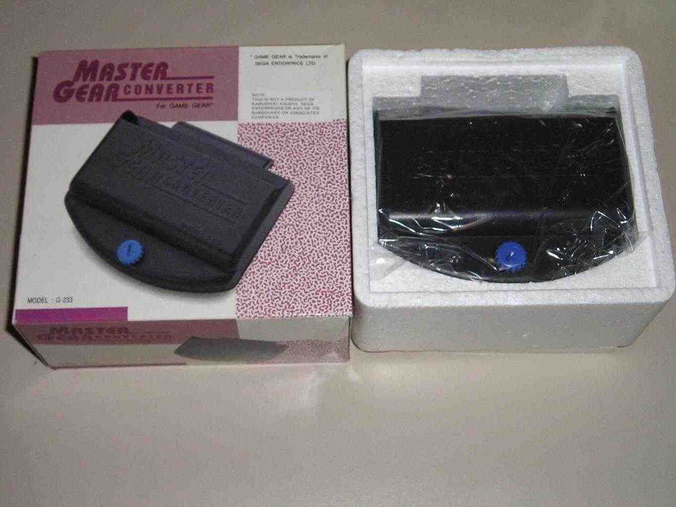 Adattatore sega game gear