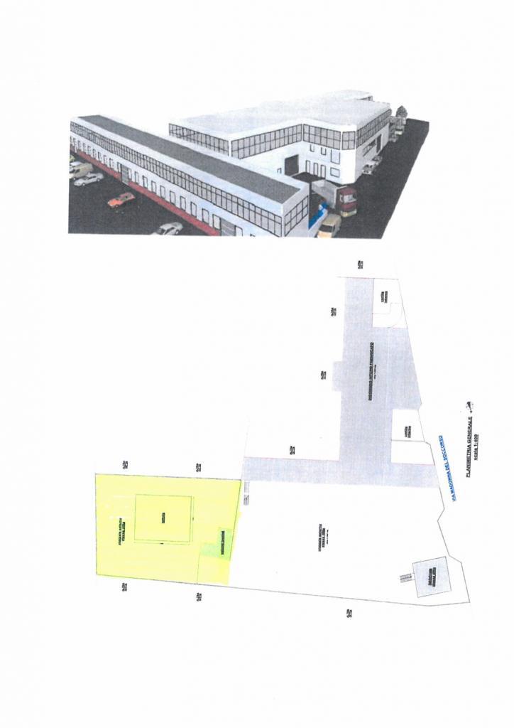 Affittasi locale 20m x 14 m, H 6,00m,con 60 mq di locali tecnici,pertinenza e parcheggi (1.450m)