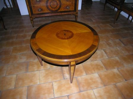Tavolino Stile Luigi XVI da salotto Meda Milano