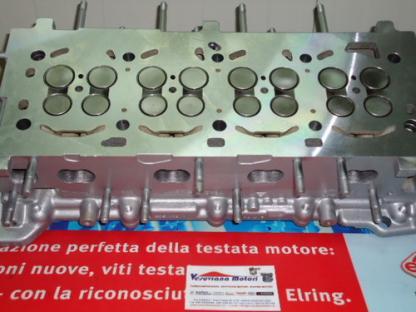 Testata motore per Fiat Croma 1.9 16v Mjet