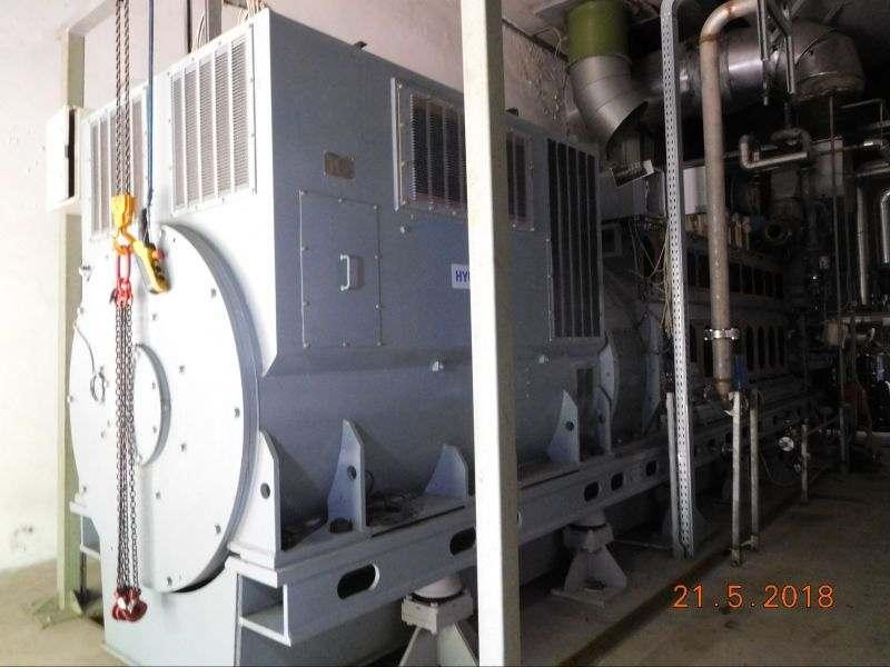 Cogeneratore 2,7 MW Man e altern. Hyundai