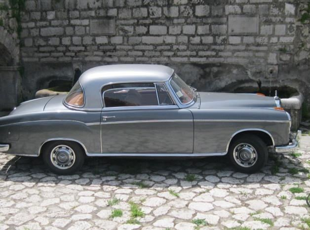 1958 Mercedes-Benz 220 Coupe