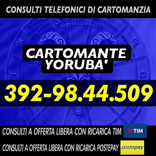 LA CARTOMANZIA VERA E' SOLO QUELLA CON OFFERTA LIBERA - YORUBA CARTOMANTE