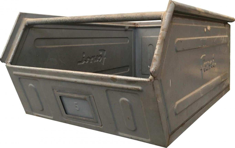 cassette in ferro Fami per minuteria pesante usate a bocca di lupo
