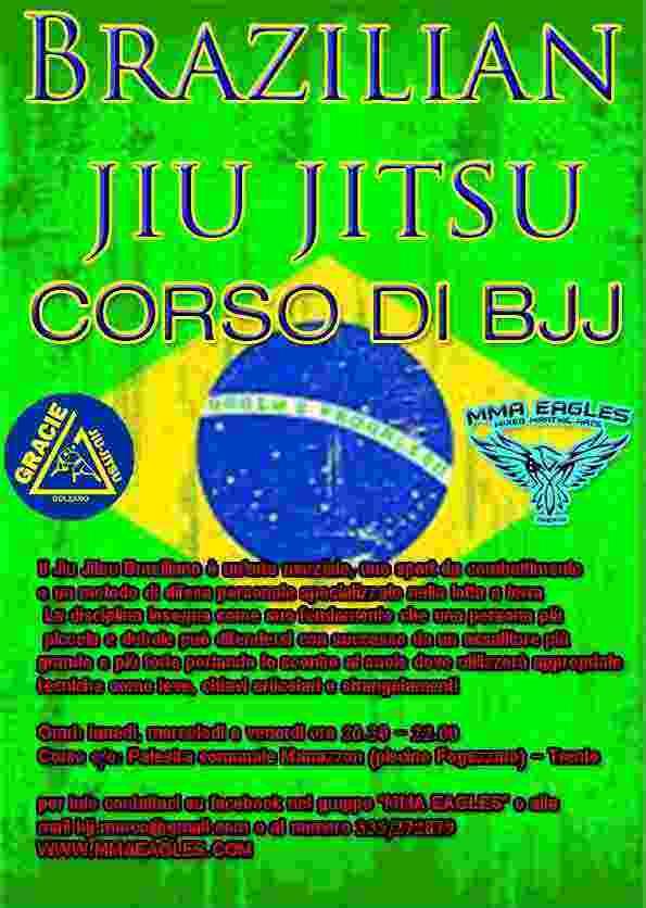 Corso di BJJ - brazilian jiu jitsu - Gracie jiu jitsu