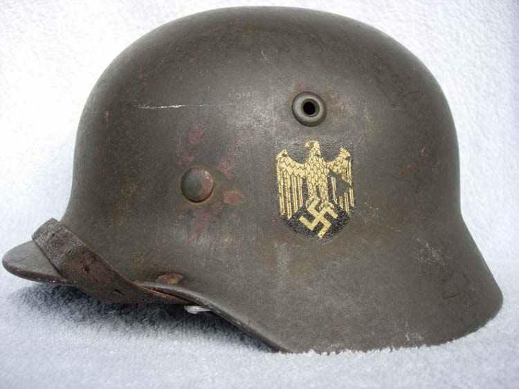 elmetto Kriegsmarine M35, della seconda guerra mondiale