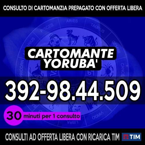 CARTOMANZIA CON OFFERTA LIBERA - CARTOMANTE YORUBA