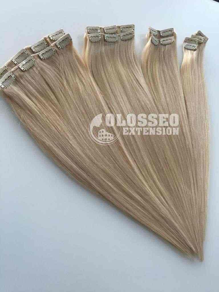 Extension capelli naturali Remy veri altissima qualità Clip on 160gr