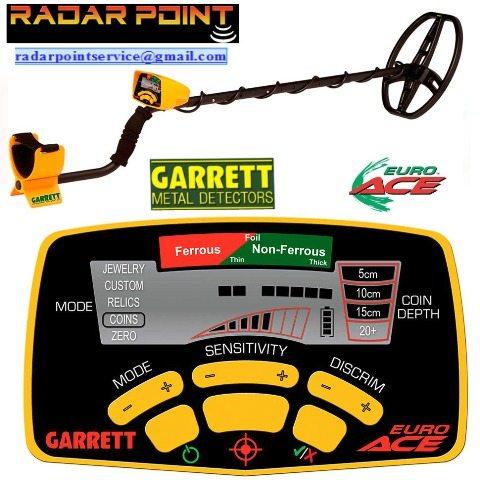 Metal detector Euro Ace Garrett
