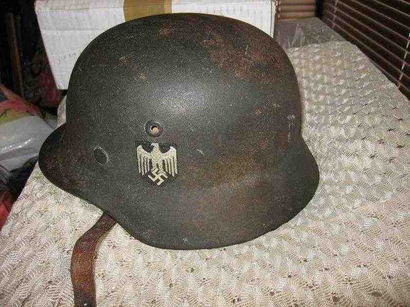 Vendo elmetto Wehrmacht M40 originale !!
