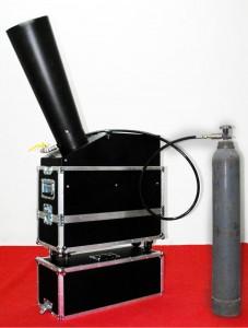 Noleggio Cannone Sparacoriadoli a Co2 con Operatore
